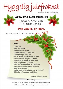 Årby julefrokost  2017